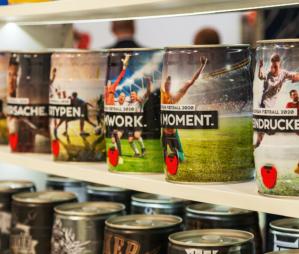 Das 5-Liter-Fass als Werbeträger: Lösungsanbieter statt Produkthersteller