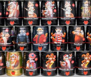 5-Liter-Kegs als Werbeträger: Brauerei 'Füchschen' setzt auf Kreativität!