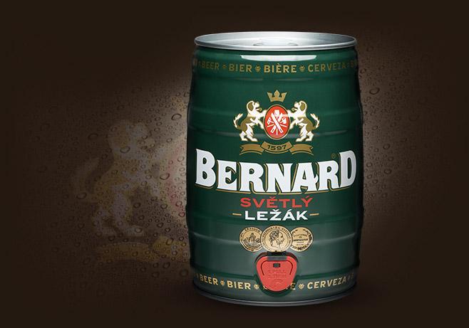 Partyfass der BERNARD Family Brewery
