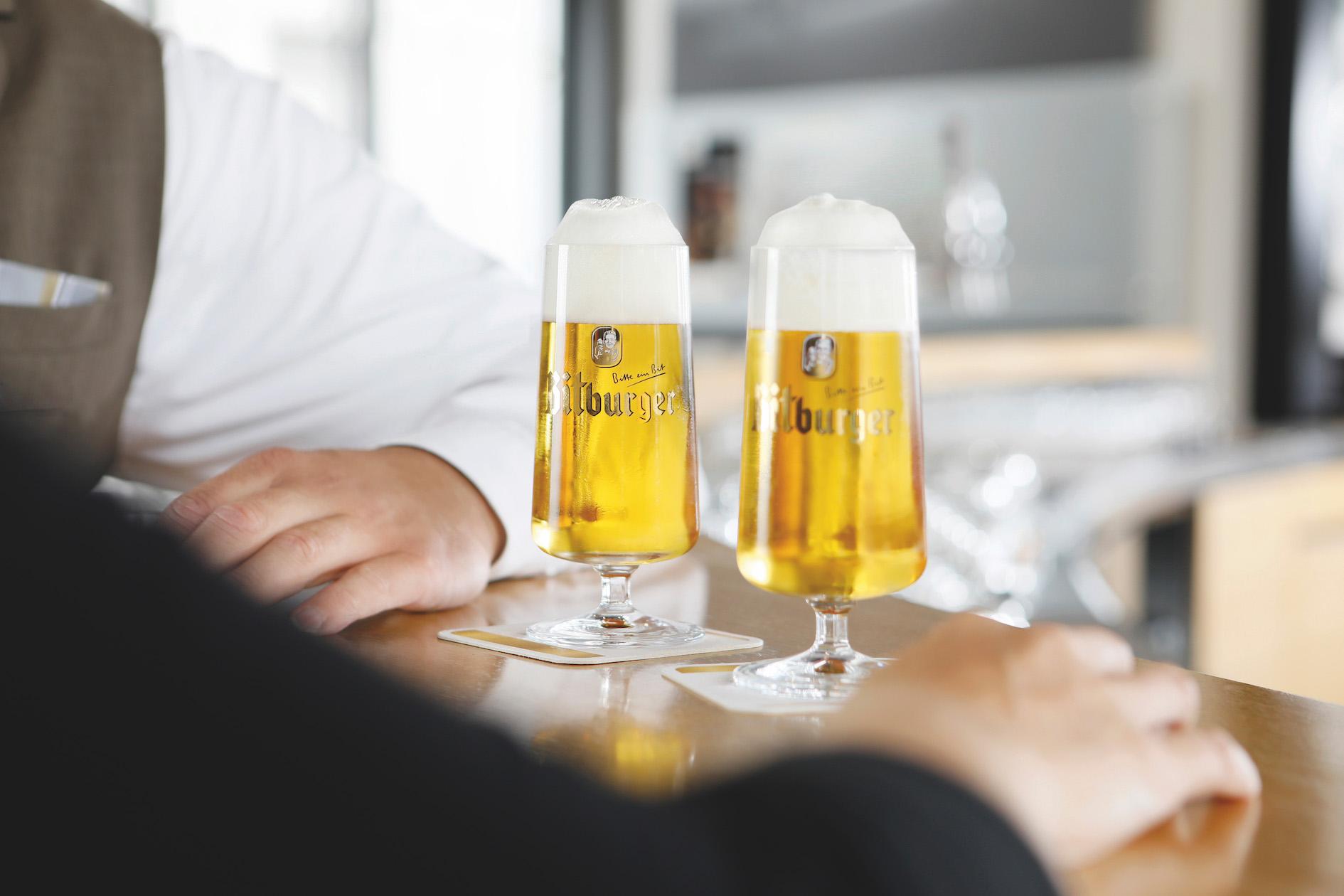 Bitburger und HUBER