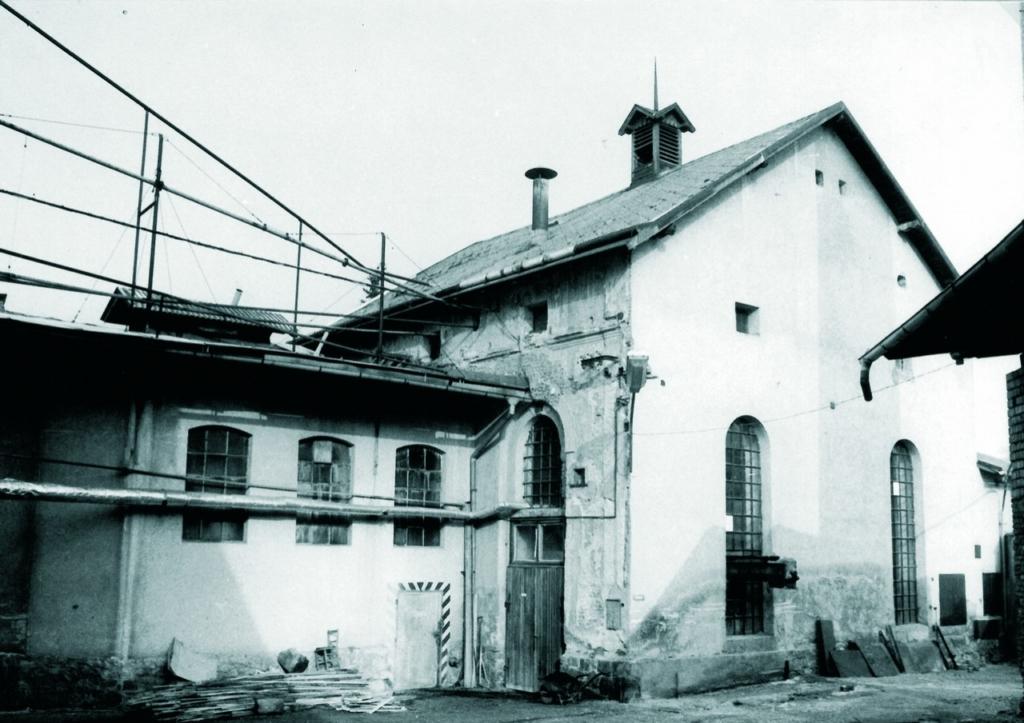 Bernard Brauerei vor der Restaurierung