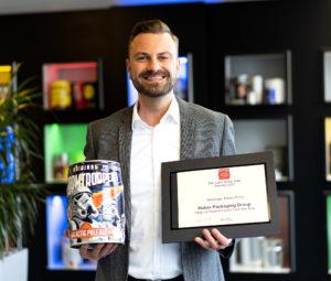 Michael Tischler mit Silver Award